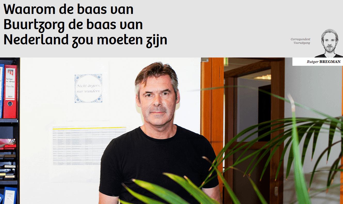 Artikel van de Correspondent over Joost Blok